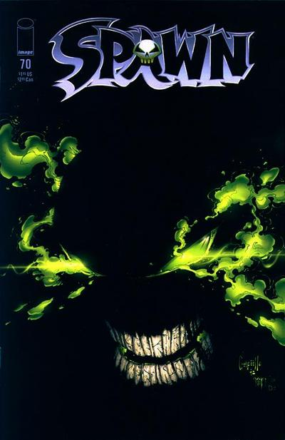 Cover for Spawn (1992 series) #70