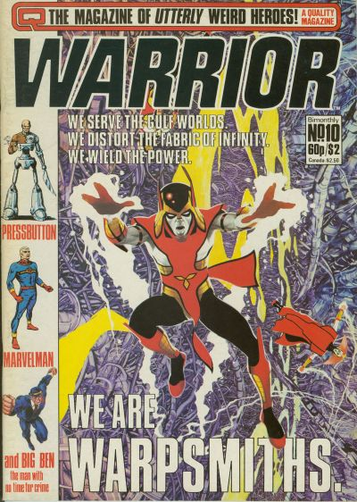 Cover for Warrior (Quality Communications, 1982 series) #10