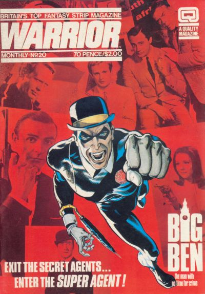 Cover for Warrior (Quality Communications, 1982 series) #20