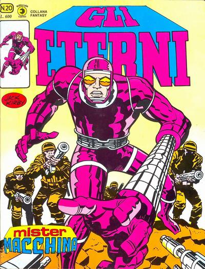Cover for Gli Eterni (Editoriale Corno, 1978 series) #20