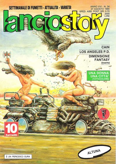 Cover for Lanciostory (Eura Editoriale, 1975 series) #v16#34