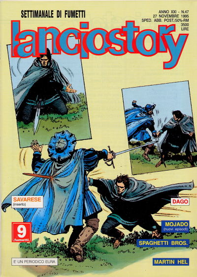 Cover for Lanciostory Anno XXI (1995 series) #vXXI#47