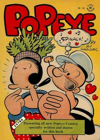 Cover Thumbnail for Four Color (Dell, 1942 series) #168 - Popeye