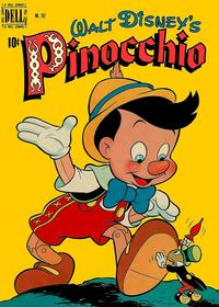 Cover Thumbnail for Four Color (Dell, 1942 series) #252 - Walt Disney's Pinocchio