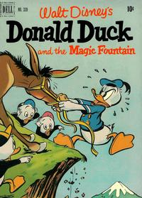 Cover Thumbnail for Four Color (Dell, 1942 series) #339 - Donald Duck and the Magic Fountain