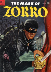 Cover Thumbnail for Four Color (Dell, 1942 series) #538 - The Mask of Zorro