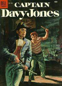 Cover Thumbnail for Four Color (Dell, 1942 series) #598 - Captain Davy Jones