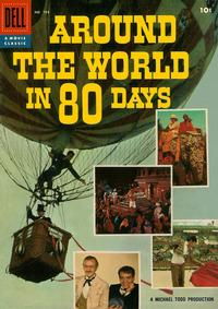 Cover Thumbnail for Four Color (Dell, 1942 series) #784 - Around the World in Eighty Days