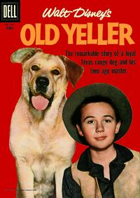 Cover Thumbnail for Four Color (Dell, 1942 series) #869 - Walt Disney's Old Yeller