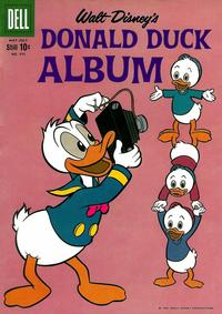 Cover Thumbnail for Four Color (Dell, 1942 series) #995 - Walt Disney's Donald Duck Album