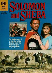 Cover Thumbnail for Four Color (Dell, 1942 series) #1070 - Solomon and Sheba