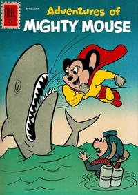 Cover Thumbnail for Adventures of Mighty Mouse (Dell, 1959 series) #154