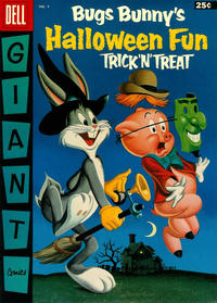 Cover Thumbnail for Bugs Bunny's Trick 'n' Treat Halloween Fun (Dell, 1955 series) #4