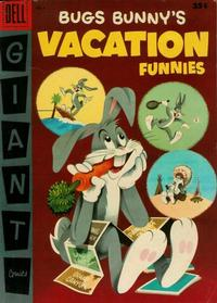 Cover for Bugs Bunny's Vacation Funnies (Dell, 1951 series) #6