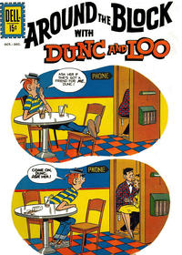 Cover Thumbnail for Around the Block [with Dunc & Loo] (Dell, 1961 series) #1