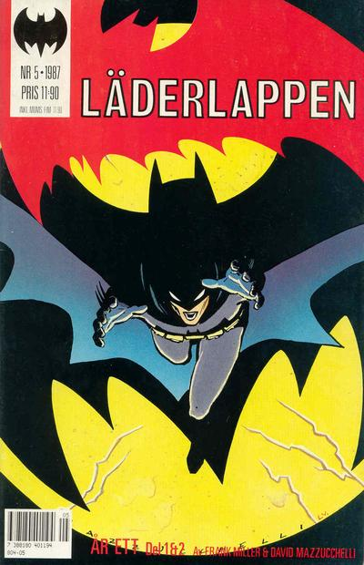 Cover for Läderlappen (Semic, 1987 series) #5/1987