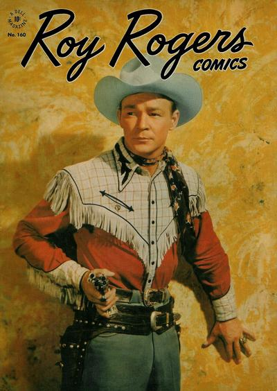 Cover for Four Color (Dell, 1942 series) #160 - Roy Rogers Comics