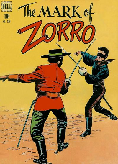 Cover for Four Color (Dell, 1942 series) #228 - The Mark of Zorro