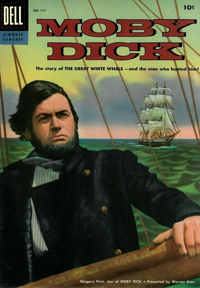 Cover for Four Color (Dell, 1942 series) #717 - Moby Dick