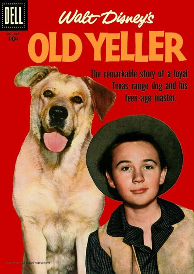 Cover for Four Color (Dell, 1942 series) #869 - Walt Disney's Old Yeller