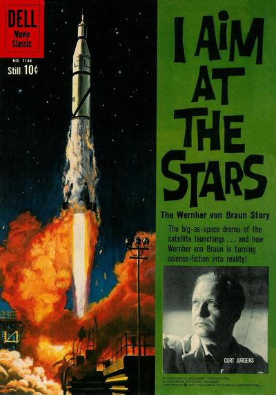 Cover for Four Color (Dell, 1942 series) #1148 - I Aim at the Stars