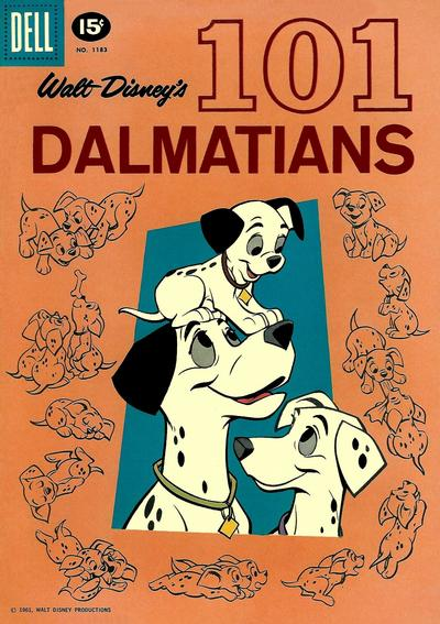 Cover for Four Color (Dell, 1942 series) #1183 - Walt Disney's 101 Dalmatians