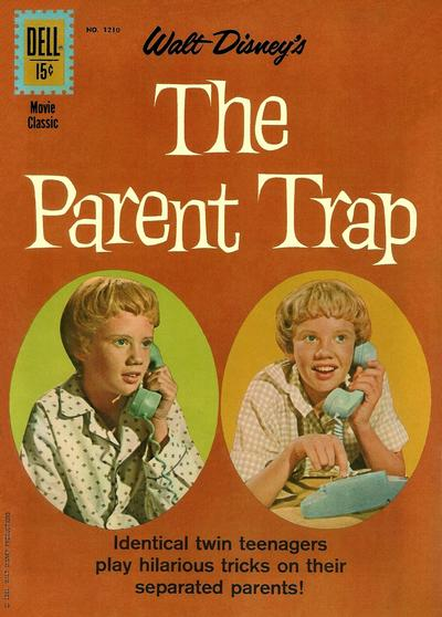 Cover for Four Color (Dell, 1942 series) #1210 - Walt Disney's The Parent Trap