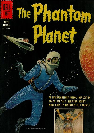 Cover for Four Color (Dell, 1942 series) #1234 - The Phantom Planet