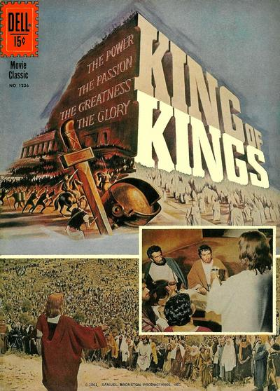 Cover for Four Color (Dell, 1942 series) #1236 - King of Kings