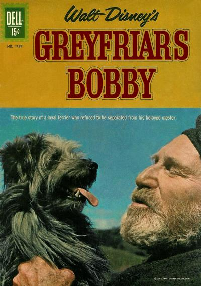 Cover for Four Color (Dell, 1942 series) #1189 - Walt Disney's Greyfriars Bobby