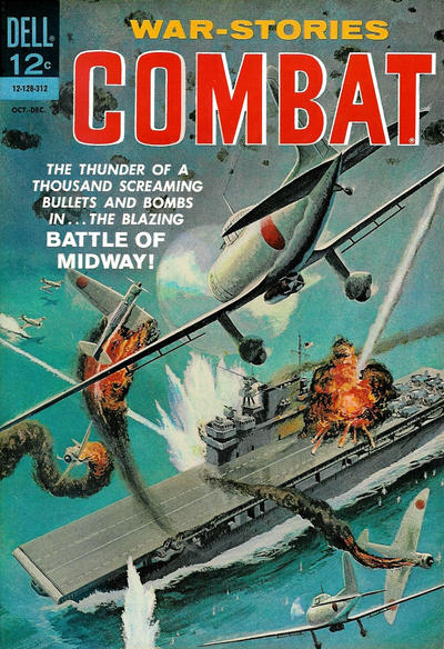 Cover for Combat (Dell, 1961 series) #10