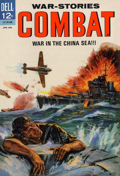 Cover for Combat (Dell, 1961 series) #16