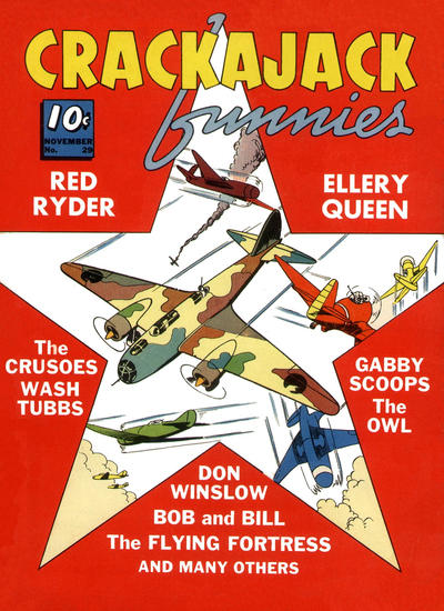 Cover for Crackajack Funnies (Dell, 1938 series) #29