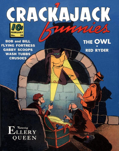 Cover for Crackajack Funnies (Dell, 1938 series) #32