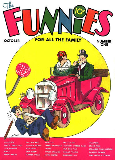 Cover for The Funnies (1936 series) #1