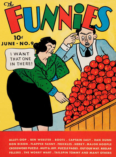 Cover for The Funnies (Dell, 1936 series) #9