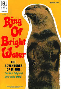 Cover Thumbnail for Ring of Bright Water (Dell, 1969 series) #701