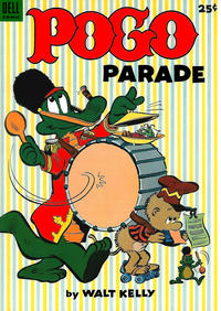 Cover Thumbnail for Pogo Parade (Dell, 1953 series) #1 [25 cent cover price]