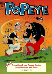 Cover Thumbnail for Popeye (Dell, 1948 series) #2