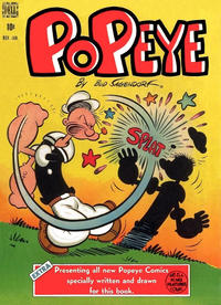 Cover Thumbnail for Popeye (Dell, 1948 series) #4