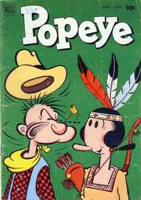 Cover Thumbnail for Popeye (Dell, 1948 series) #20