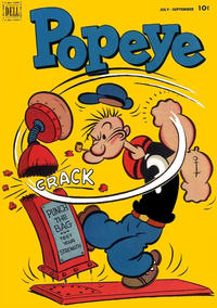 Cover Thumbnail for Popeye (Dell, 1948 series) #21