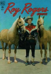 Cover Thumbnail for Roy Rogers Comics (Dell, 1948 series) #5