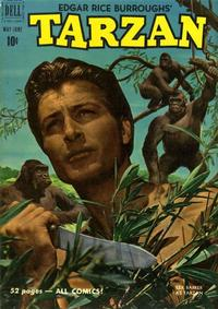 Cover Thumbnail for Edgar Rice Burroughs' Tarzan (Dell, 1948 series) #21