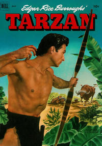 Cover Thumbnail for Edgar Rice Burroughs' Tarzan (Dell, 1948 series) #34