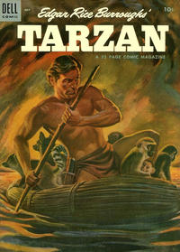 Cover Thumbnail for Edgar Rice Burroughs' Tarzan (Dell, 1948 series) #58