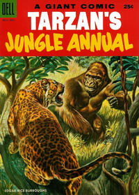 Cover Thumbnail for Edgar Rice Burroughs' Tarzan's Jungle Annual (Dell, 1952 series) #4