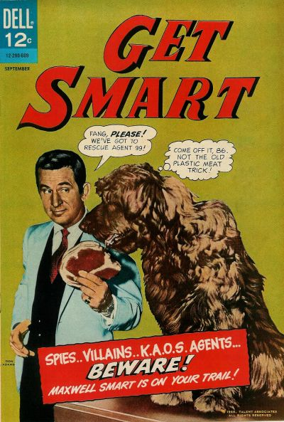 Cover for Get Smart (Dell, 1966 series) #2