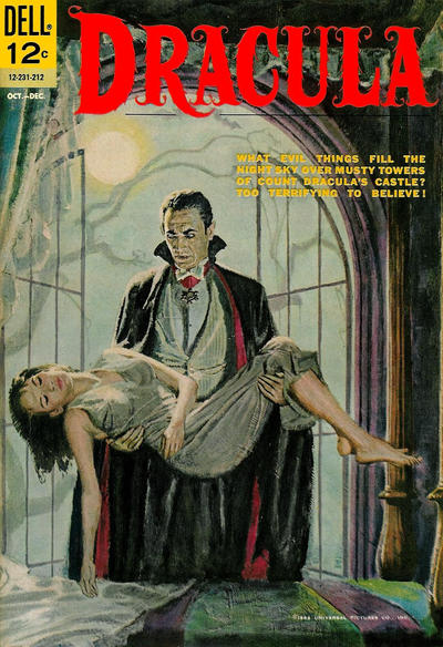 Cover for Dracula (Dell, 1962 series) #1