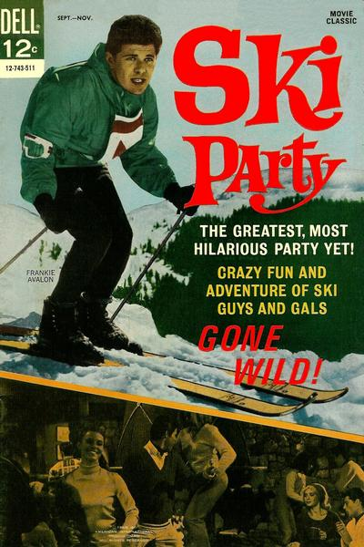 Cover for Ski Party (Dell, 1965 series) #743